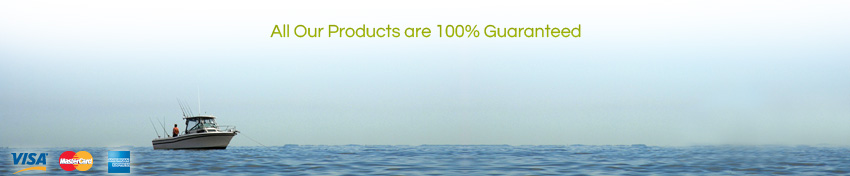 All Our Products are 100% Guaranteed
